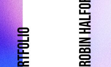 Portfolio Titel 2021 Robin Halford